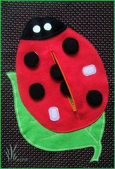 QUIET BOOK _ ladybird
