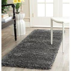 "Mercer41 Stellan Handmade Dark Gray Area Rug Rug Size: 5'3"" x 7'6"""