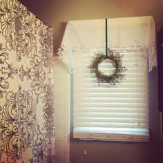 A tour of our two tiny bathrooms decked out for Christmas...Merry Christmas from 422 13th St! :)