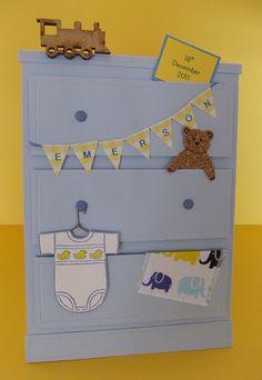 Baby boy card*