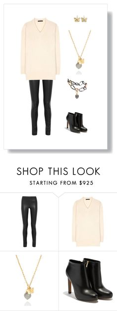 """#107"" by cindrof on Polyvore featuring Mode, Joseph, The Row, Ole Lynggaard und Salvatore Ferragamo"