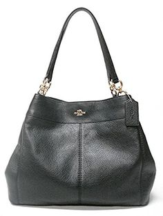 60073b8f70  225 - Coach F57545 Lexy Pebble Leather Shoulder Bag Shoulder Bags For  School