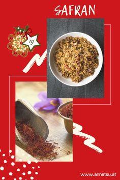Hinter Türchen 19 meines Gewürz Adventskalenders verbirgt sich der Safran. Ich verrate dir die Wirkung von Safran sowie ein geniales Rezept in der Podcast-Folge vom Gewürz Adventskalender. #safran #gewürzadventskalender #weihnachten #adventskalender
