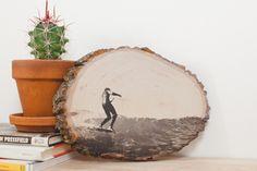 Como fazer um quadro impresso na madeira - Papo de Homem