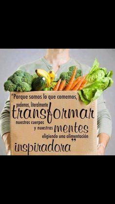 Somos lo que comemos, que el alimento sea tu medicina  #salud #nutrición #estilodevida