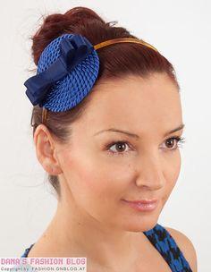 DIY Tutorial: Haarreif aus Kordel und Satinband