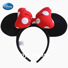Cheap accessory strap, Buy Quality headbands custom directly from China headbands cheap Suppliers: 			 orginal Minnie Headband Children Accessories Mickey ears Hair Accessori