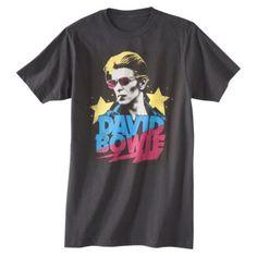 Men's David Bowie Starman Graphic Tee - Coal