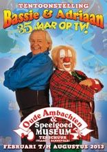 Bassie & Adriaan; 35 years on tv, can you believe it?! I admit, I did watch their shows as a child...