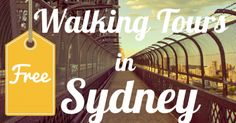 6 Free Historic Self-Guided Walking Tours in Sydney Sydney Moving Guide's Very Own Free Walking Tour of Sydney's CBD That's right, I've write my very own walking tour of Sydney's CBD. I've included a free downloadable PDF. The walk starts off at the David Jones food hall then loops... #sydneytravel