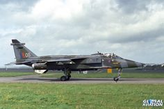 RAF Brawdy Open Day, 21 May 1981. 226OCU Jaguar GR.1 XX753. 226OCU Jaguar GR.1 XX753 ended up as an RAF Marketing and Recruitment Unit exhibit on a trailer. It was later acquired by the Newark Air Museum. - © Paul Filmer- Global Aviation Resource