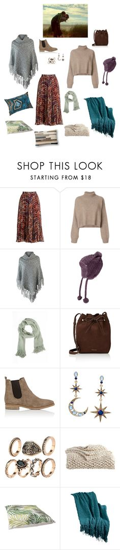 """""""Love me in everywhere"""" by alwayskissmegoodnight ❤ liked on Polyvore featuring Haute Hippie, Rejina Pyo, The North Face, Tobi, Mansur Gavriel, Barneys New York, Betsey Johnson, DKNY, Oliver Gal Artist Co. and Pier 1 Imports"""