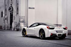 https://flic.kr/p/cA3BTf | Ferrari 458 Italia | Cracow, Poland.  Pentax K-x + SMC M 50/1.7