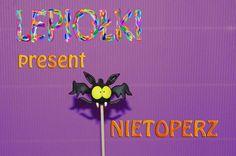 Halloween tutorial : Nietoperz Bat polymer clay made hand modelina