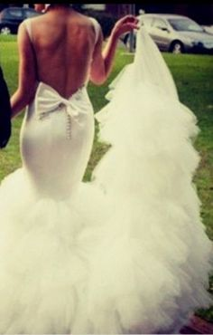 It's a white wedding. I want that dress