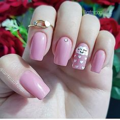 Nails should also be replaced in summer! Finishing nail art shapes, and letting your nails cool in summer – Page 7 Birthday Picture Displays, Neutral Nails, New Nail Art, Birthday Pictures, Nail Decorations, You Nailed It, Nailart, Manicure, Shapes