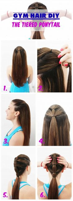 Quick and Easy Gym Hair