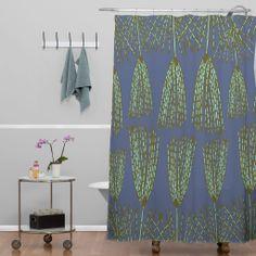 Caroline Okun Chara Shower Curtain | DENY Designs Home Accessories  #apartment #office #dorm #bath #bathroom #shower #showercurtain #home