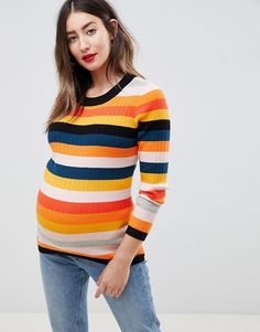 Discover the latest maternity and pregnancy clothing with ASOS. Shop for maternity dresses, maternity tops, maternity lingerie & maternity going-out clothes. Asos Maternity, Maternity Swimsuit, Maternity Skirt, Fall Maternity, Casual Maternity, Maternity Fashion, Maternity Sweater, Pregnancy Looks, Fashion Clothes