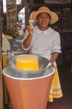Acabo de compartir la foto de Ronald Alex Espinoza Marón que representa a: El helado de queso - Arequipa