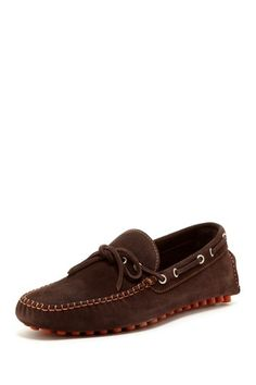 Solid Suede Driving Moccasin
