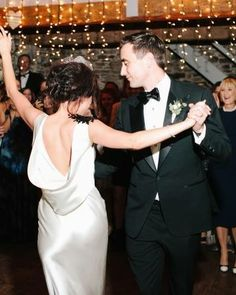 What is your first dance song?  See more from this swinging couple's romantic destination wedding: http://shout.lt/nwRj