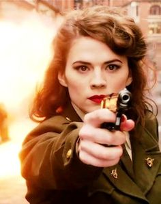 Peggy Carter.  She was the perfect match for Steve, but I guess it was just not meant to be.  *Que the emotional crying*