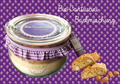 Bio-Cantuccini Backmischung im Weck-Glas von Mathilda - Kuchen im Glas auf DaWanda.com