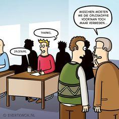 Agent Bruinsma op onderzoek. #cartoon -Evert Kwok