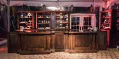 From the Fantastic Beasts movie premiere after party - Aiden Bar and Back Bars - furniture rental available at designer8.com