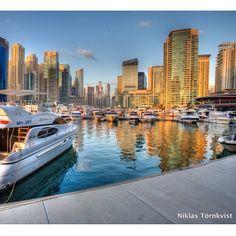 #Dubai Marina Taken by Niklas Tornkvist