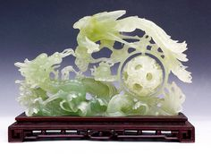 # DRAGON  AND  PHOENIX IN JADE