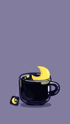 PC-Hintergrund - [ Wallpaper of Cup Illustrations Series ] (Telefon und PC-Bildschirm) (Cup of Night, R - Backgrounds♡♡ - Rainbow Cartoon Wallpaper, Wallpaper Tumblr Pc, Witch Wallpaper, Kawaii Wallpaper, Cute Wallpaper Backgrounds, Aesthetic Iphone Wallpaper, Cute Wallpapers, Aesthetic Wallpapers, Mobile Wallpaper