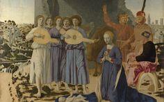 Рождество, the nativity, Пьеро делла Франческа, Лондонская Национальная галерея, Piero della Francesca