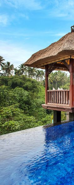 A private infinity pool with a jungle view? Yep. #Bali