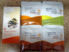 Adagio is a company that sells loose-leaf teas sourced directly from Artisan farmers. Their product selection is divided up very helpfully, the website lists teas by type (white, black, oolong, etc, including a variety of tea blends) and they have several sampler variety packages as well as the option to purchase a small sample of each type of tea (and they list the cost per cup for each option).