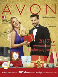 Yeni yıl heyecanı başlıyor! Avon kataloğundaki 1200'den fazla harika hediye ve indirimle sevdiklerinizi mutlu edin!
