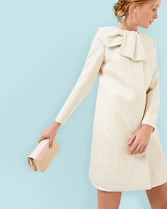 Browse Ted Baker's sophisticated coats and jackets for women. Cocktail Outfit, Modest Outfits, Classy Outfits, Cute Outfits, Ankara Gown Styles, Cute Coats, Dresses Kids Girl, Fashion Project, Designing Women