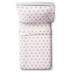 Flamingos Sheet Set - Toddler - 3 pc - Multicolor - Pillowfort™ : Target