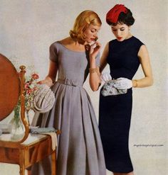 Dresses by Jonathan Logan 1957