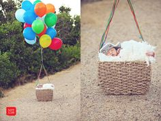 This mini guy who's on his way Up: | 29 Newborns Who Really Nailed Their First Photo Shoot