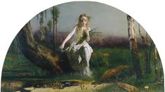 The Athenaeum - Ophelia (Arthur Hughes)