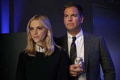 Still of Michael Weatherly and Emily Wickersham in NCIS (2003)