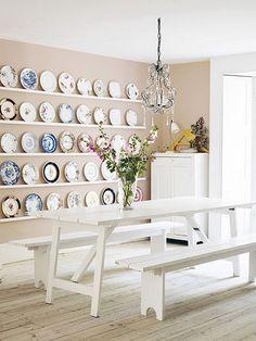 wall of plates | Flickr: Intercambio de fotos