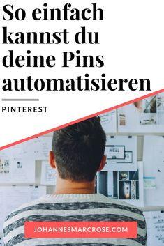 Pinterest ist mit die beste Plattform wenn es um organische Traffic geht. In diesem Beitrag zeige ich dir, mit welchem Tool du ganz einfach deine Pins vornst. Dadurch sparst du Unmengen an Zeit und hast ebenfalls noch Vorteile für Pinterest SEO. Mit Pinterest SEO kannst du sehr einfach sehr viele Besucher für deinen Blog generieren und damit sogar ein Vollzeit Einkommen aufbauen. Automatisiere deine Pins noch heute mit Tailwind. #pinterest #pinterestseo #tailwind Rest, Affiliate Marketing, Shop, Delete Pin, Entrepreneur, Website, Benefits Of, Earn Money, Blogging