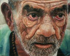 pastel - Life's Story by Gwen wooow. Portrait Art, Male Portraits, Portrait Paintings, Spanish Artists, Guy Drawing, Pastel Drawing, People Art, Colored Pencils, Pastels