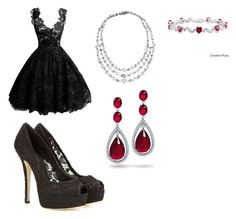 """""""This design is Rhythm by repetition"""" by explorer-14571046578 on Polyvore featuring Dolce&Gabbana, David Morris, Bling Jewelry and Miadora"""