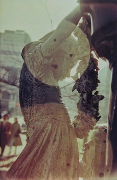Saul Leiter. Reflection