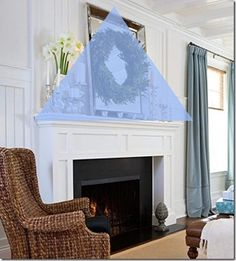 Decorate Fireplace elements to decorate a mantel | mantels, twine and master bedroom