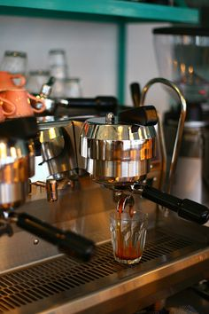 I'd do anything for a good espresso right now.